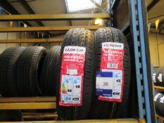 2 x Lussan 155/65x14 Tyres