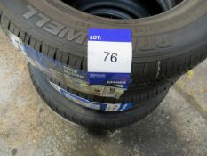 3 Various Tyres to include Primewell 165/65R14, 79