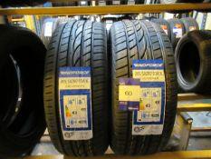 2 x Windforce 205/50x17 Tyres