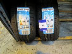 2 x Tracmax 205/60x15 Tyres