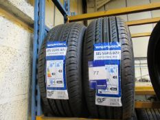 2 x 185/55x15 Windforce Tyres