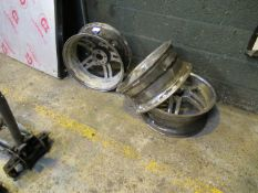 3 Alloy Wheels – (Spares/Repairs)