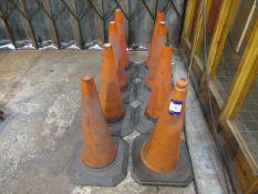 8 Traffic Cones