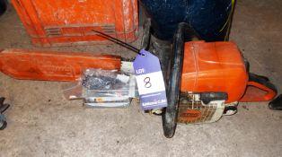 Stihl MS290 petrol chainsaw