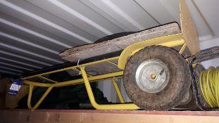 Steel fabricated sack trolley