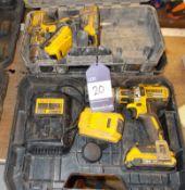 2 x DeWalt cordless drills