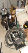 Unbadged engine driven power wash