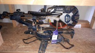 GMC 1800W 250mm double bevel slide compound mitre saw