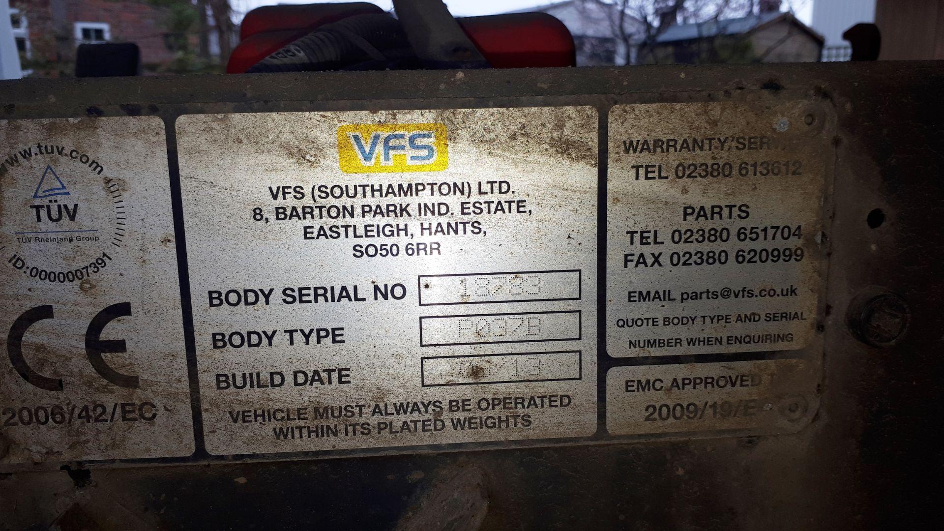 Los 1 - Ford Transit 125 T350 RWD cage tipper van, registration HG13 GKY, first registered 31 July 2013,