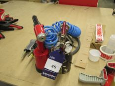 Various Pneumatic Tools