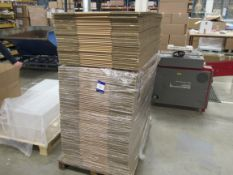 Quantity Cardboard Boxes to 3 Pallets