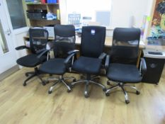 4 x Various Office Chairs