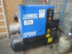 ABAC Spinn 11 E270 Receiver Mounted Package Air Compressor, 2019, Serial Number ITJ054889