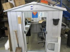 Yardmaster Tin Shed, 72x84in, Computer not included