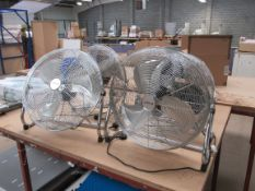 4 High Discharge Fans