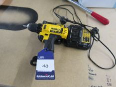 Dewalt DCD710 Cordless Driver with 2 Batteries and Charger