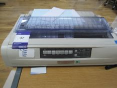 OKI Microline 5591 Forms printer