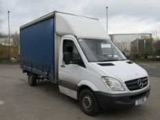 Mercedes Benz, Sprinter 316 CDEI Euro 5 LGV, Curtain Side Small Lorry, Diesel, White, 3.5t Chassis
