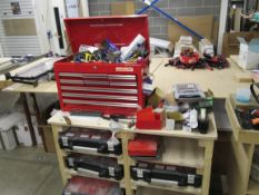 Tool Chest and Mobile Timber Tool Trolley
