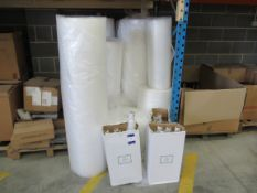 Quantity Shrink Wrap and Bubble Wrap
