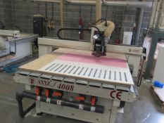AXYZ 4008 Flat Bed CNC Router Table, Serial Number