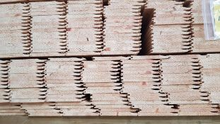 15mm x 125mm (12mm x 121mm) shiplap cladding. 740 pieces @ 1190mm.