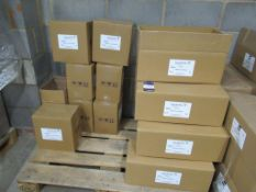 9 x boxes of Ultrasound gel (250ml) - one box is open and 7.5 boxes of cosmetic IPL/Laser gel