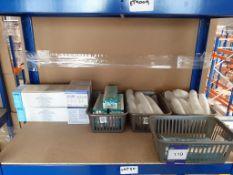 Shelf to contain Terumo Needles, Disposable Scalpels, Iris Scissors etc
