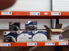 Shelf to include Qty of different sizes Medical/Examination Gloves