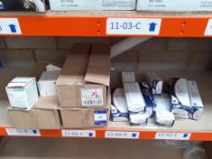 Shelf to include Qty of Sterilisation Pouches and Sterowash
