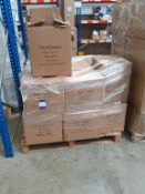 Pallet of Desk Towels 100% Lint Free (approx 16 boxes)