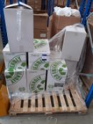 """Pallet of 10"""" White Wiper Rolls 40m (approx 11 boxes)"""