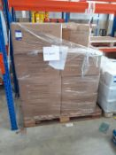 Pallet of Compresse Facial Towels (approx 15 boxes)