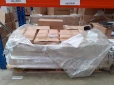 Pallet of Black Heavy Duty Bin Bags (10 rolls of 200 bags)