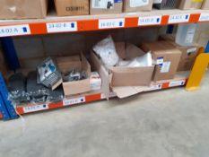 Shelf to contain Nail Wipes, Big Feet file., Acetone etc