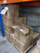 11 x boxes of White Headbands