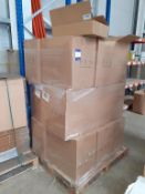 Pallet of Lint Free Melt Blown Nail Wipes (approx 15 boxes)
