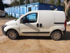 Peugeot Bipper S HDI Panel Van, Registration NV62