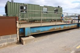 35T Raised Weighbridge with Avery Weight Tronix E1