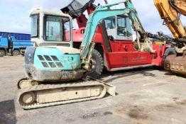 Kobelco SK45SR -2 Tracked Mini Excavator, 4,730kg,