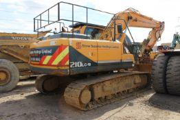 Hyundai Robex 210LC9 Excavator, 107kw, (2010) Seri