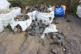 6 x Bags of Pennant Semi Coursed Buildings Stone (