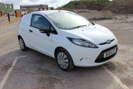 Ford Fiesta Base TDCi Car Derived Van Registration