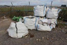 9 x Bags Blue Lias Building Stone (please note the