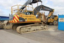 Volvo EC290CL Crawler Excavator, Machine Mass 31,9