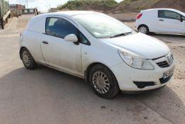 Vauxhall Corsa Van 1.3CDTi 16v Van Registration NL
