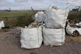 15 x Bags of Purbeck Building Stone (please note t