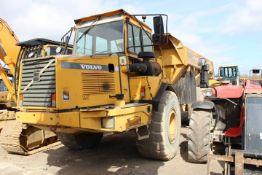 Volvo A25C 6x6 Dump Truck, Machine Mass 9,000kg, S