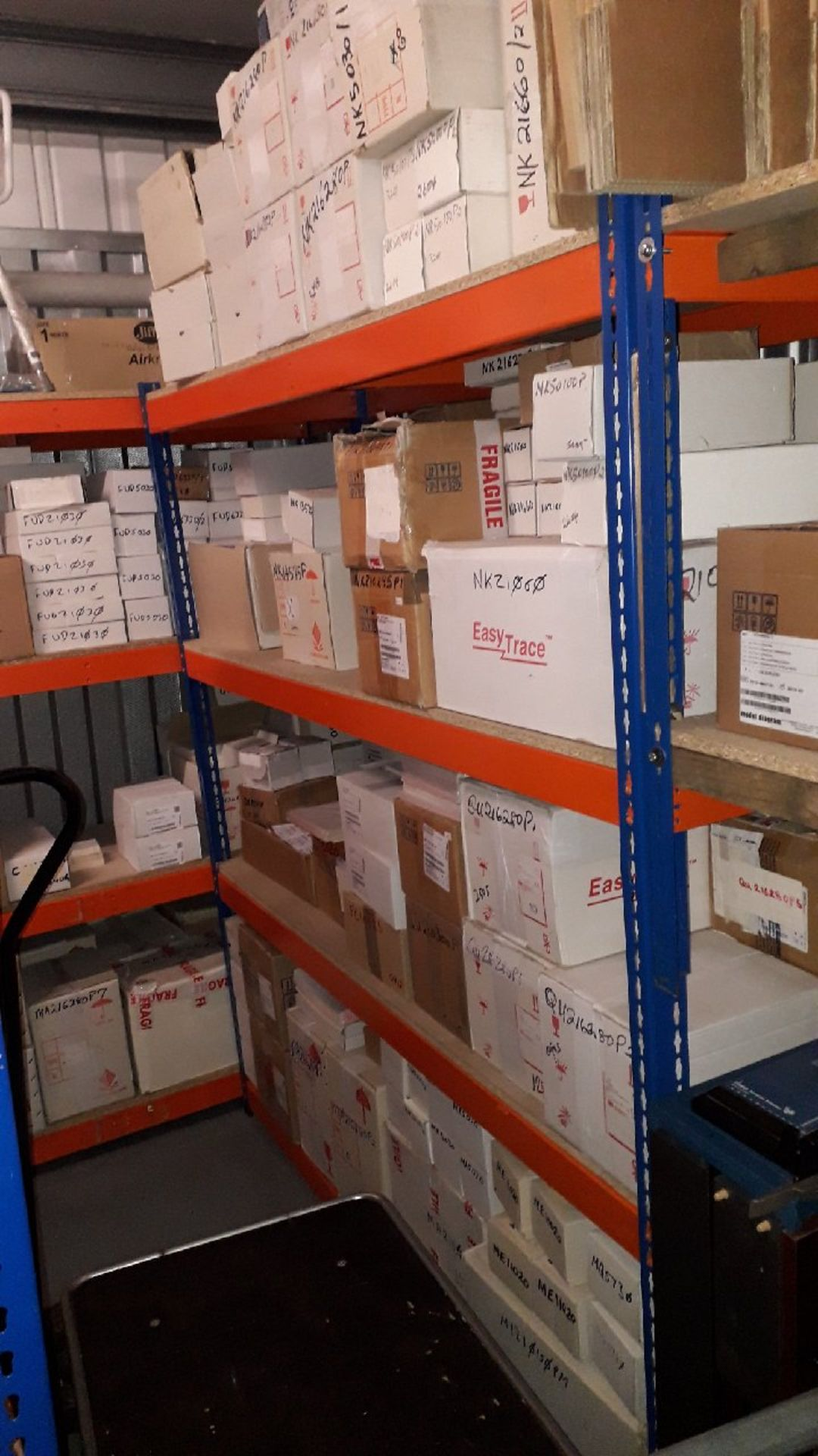 Stock of medical consumables and equipment to incl