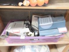 Miscellaneous items including Franking Machines, Chains, Ratchets etc